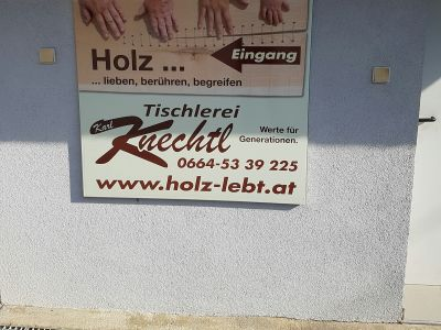 Schilder - Prall Werbetechnik