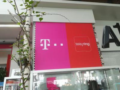 T-Mobile - Prall Werbetechnik